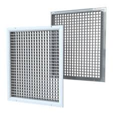 Double Row Ventilation Grilles With Adjustable Louvres Of Dr Series Vents