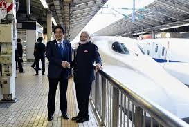 Pm Modi Bullet Train Project Stop By Mango And Chiku ...