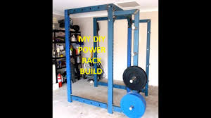 my diy power rack build you