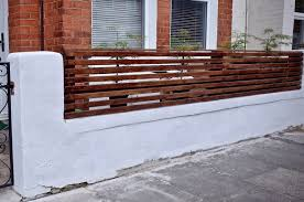 How To Create A Floating Cedar Wood Slat Fence Step By Step Tutorial