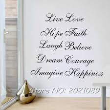 Meihuid Ten Positive Words Quote Word Decal Vinyl Home Room Decor Art Diy Wall Stickers Bedroom Removable Wall Stickers Bedroom Stickers Bedroomwall Sticker Aliexpress