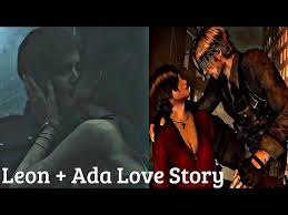 All Ada & Leon Saving Each Other & Flirting Cutscenes + Kiss - Resident  Evil Series - YouTube