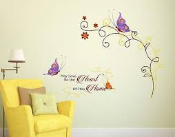 Butterfly Quotes Wall Sticker Quote Words Decal Vinyl Decor Mural Ebay
