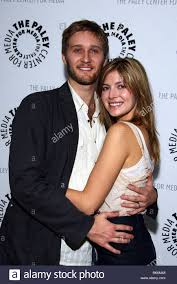 AARON STATON & GIRLFRIEND MAD MEN AT THE PALEY CENTRE BEVERLY ...