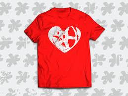 Volk Te37 Heart T Shirt Sick Decal