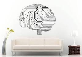 Special Wall Sticker Neurelectric Human Brain Circuit Board Wall Decal Vinyl Sticker Room Decor House Interior Poster Ny 409 Wall Sticker Decoration Housevinyl Stickers Aliexpress