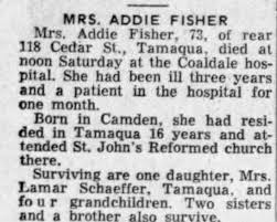 Obituary for FISHER (Aged 73) - Newspapers.com