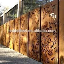 prefab iron garden fence metal