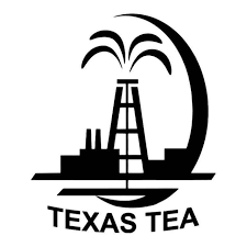 Texas Tea Oil Rig Vinyl Decal Sticker