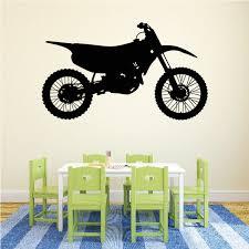 Dirt Bike Wall Decal Vinyl Decal Car Decal Vd010 36 Inches Walmart Com Walmart Com