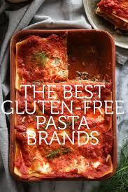 the best gluten free pasta brands with