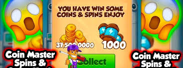 Coin Master FREE spin coins: Get for free instantly
