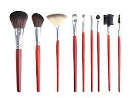 makeup brushes and bristles finally