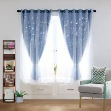 Ideas Attractive Interior Decor By Using Pretty Childrens Blackout Curtains Livesofthefamily Com