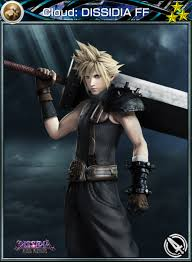 Cloud: DISSIDIA FF (Card) - Mobius Final Fantasy Wiki