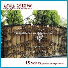 Philippines Gates And Fences Wrought Iron Gate Designs Tubular Gate Design View Philippines Gates And Fences Yishujia Product Details From Shijiazhuang Yishu Metal Products Co Ltd On Alibaba Com