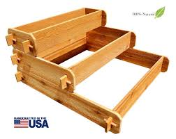 3 tier raised garden bed kits for