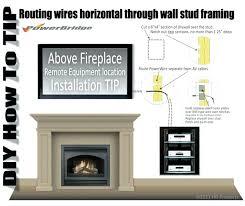 fireplace tn installing tv cost