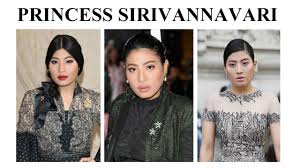 Princess Sirivannavari Nariratana of Thailand - Paris Fashion Week - YouTube