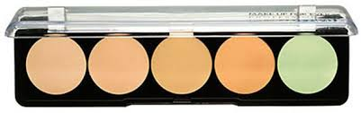 ever 5 camouflage cream palette no