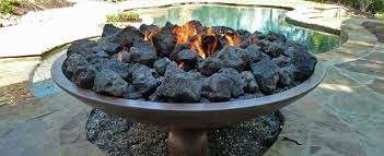 popular lava rock for gas fireplace