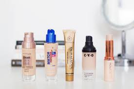 the best foundations for dry skin red