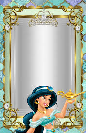 10 Hermosos Fondos Para Tarjetas De Invitacion Princesa Jazmin