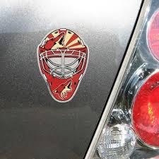 Arizona Coyotes Goalie Mask Auto Emblem