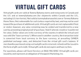 gift cards and give the island