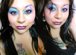 makeup tutorial cyndi lauper inspired