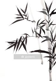 bamboo leaf wall decal pixers we