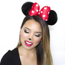 minnie mouse makeup tutorial alyson