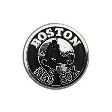 Boston Red Sox Logo 3d Chrome Auto Decal Sticker New Truck Or Car Boston Red Sox Logo Car Emblem Boston Red Sox