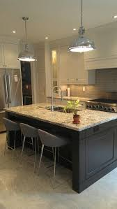 our kitchen island industrial pendant