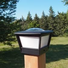 4x4 Fence Post Solar Light By Free Light 4x4 Post Cap Solar Light