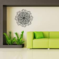 Indian Buddhist Art Decorative Wall Decals Stickers Mandala The Sitting Room The Bedroom Home Mural L Indian Home Decor Olivia Decor Decor For Your Home And Office