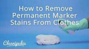 how to remove permanent marker from