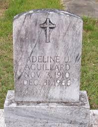 Adeline Johnson Aguillard (1910-1966) - Find A Grave Memorial