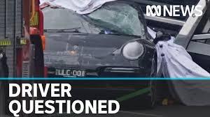 Porsche driver who allegedly fled scene ...