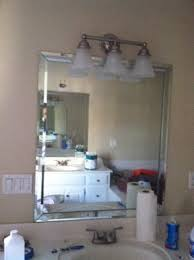 how to remove mirrored trim from mirrors