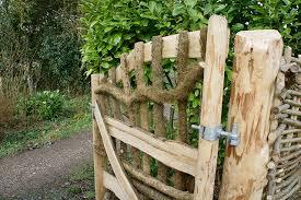 garden gates make a grand entrance