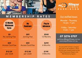 Fitness Flyer Design for Stepz Fitness ...