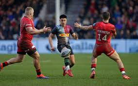 Marcus Smith shines as clinical Harlequins hammer tame Saracens in London  derby