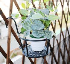 Iron Art Hanging Baskets With Hook Garden Planter Stand Metal Flower Pot Holder Over The Rail Flower Pot Hangers Great For Patio Balcony Porch Or Fence Walmart Com Walmart Com