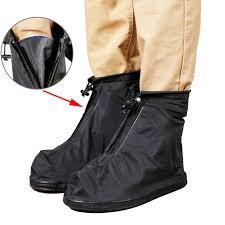 transpa reusable rain shoe covers