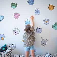 Animal Hall Of Fame Removable Wall Decals Never Never