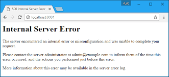 what is a 500 internal server error and