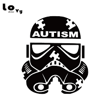 Star Wars Vinyl Car Sticker Stormtrooper Autism Car Decal For Car Body Decoration Ca0905 Car Stickers Aliexpress