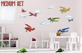 Air Planes Nursery Boys Wall Decal