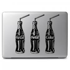 Coca Cola Three Soda Bottles Apple Macbook Air Pro 11 13 15 17 Vinyl Decal Sticker Dreamy Jumpers